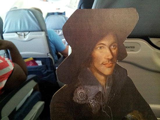 Donne-on-plane