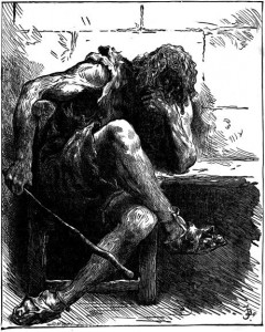 Giant Despair, from an 1894 engraving by the Dalziel Borthers
