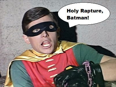 """Holy Rapture, Batman!"""